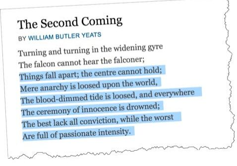 The Second Coming W.B. Yeats